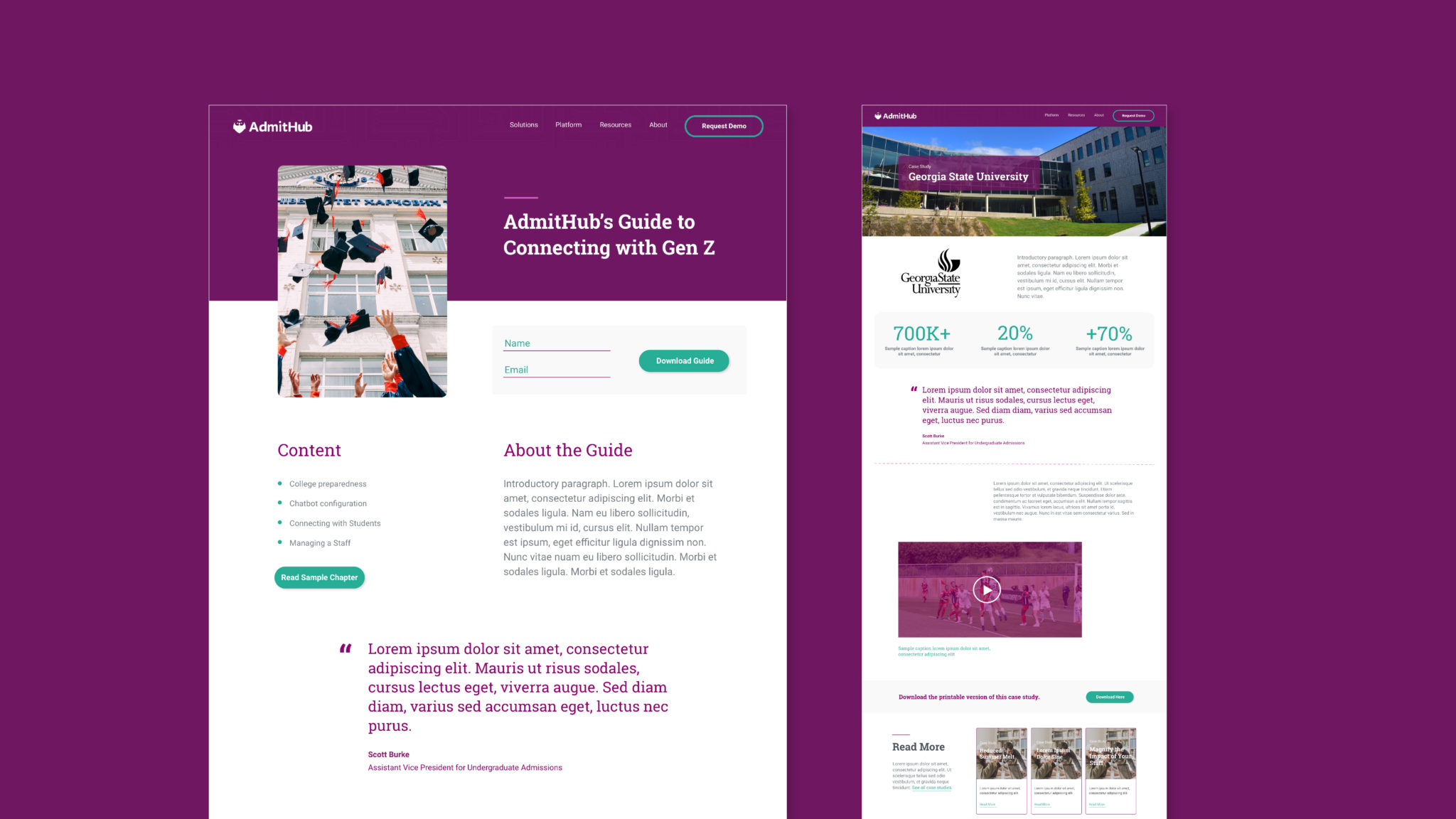 AdmitHub-Website-CaseStudy