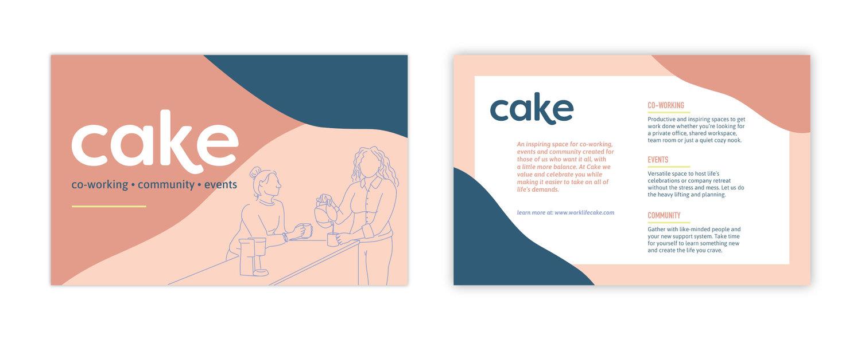 Cake-Postcard
